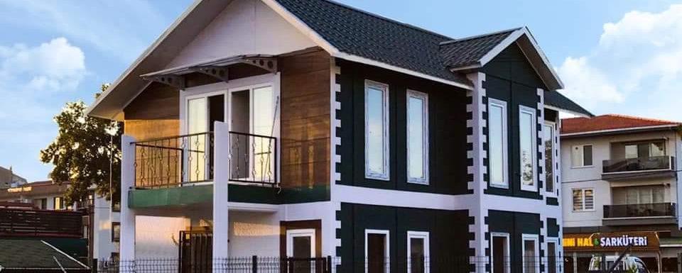 къща на ниска цена сглобяема къща